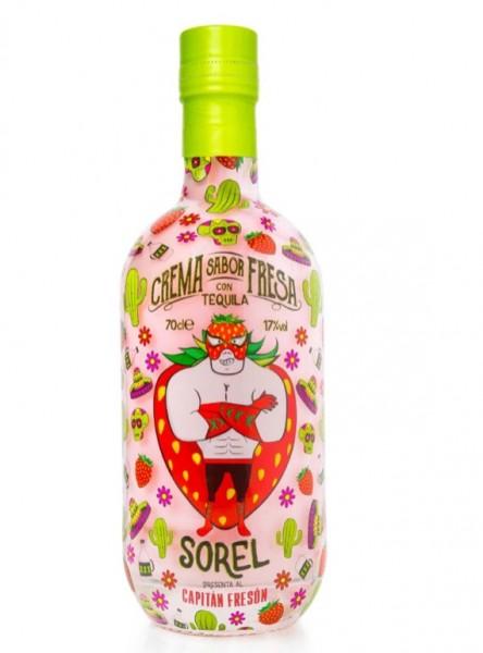 Erdbeerlikoer mit Tequila Capitan Freson