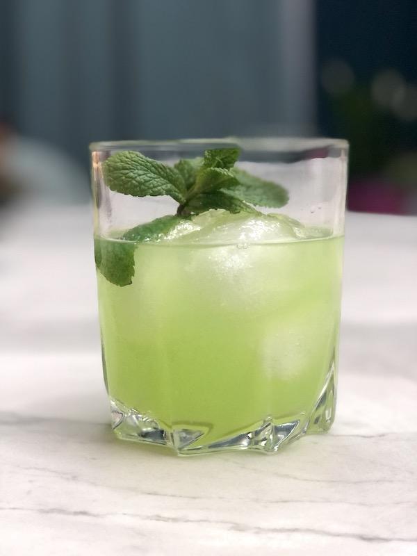 Minze-Tequila-Cocktail
