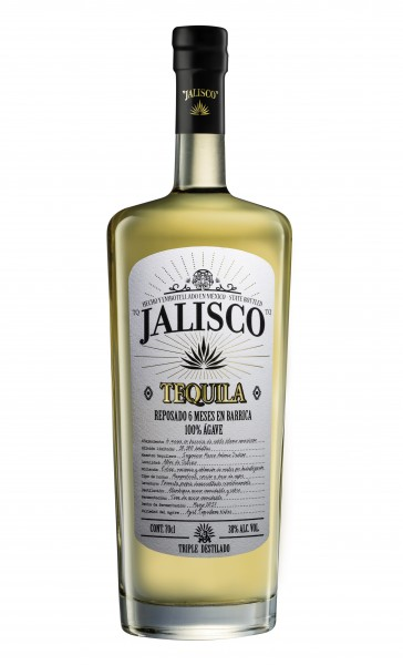 Tequila Jalisco Reposado, 100% blaue Agave, 6 Monate im Barrique gereift. Limited Edition.