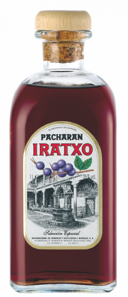 Pacharan Iratxo Frasca, Schlehenlikör, 1 L