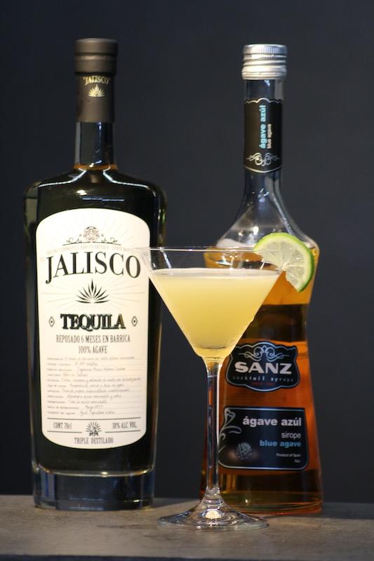Tequiliano-Cocktail-mit-Tequila-und-Agavensirup
