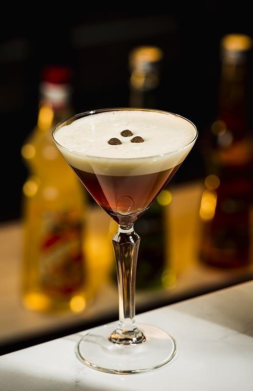 Haselnuss-Espresso-Martini-Cocktail