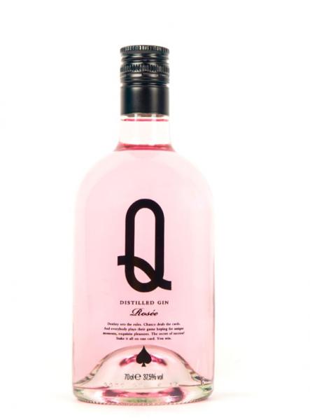 """Rose Gin """"Q"""" aus Barcelona, 0,7 L, 37,5% vol."""