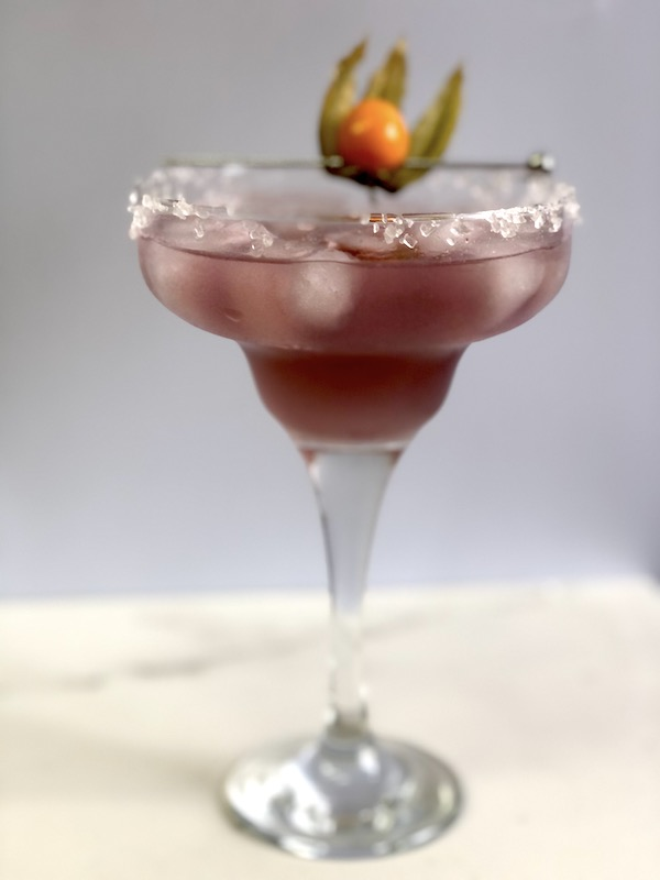 Violett-Margarita-Cocktail