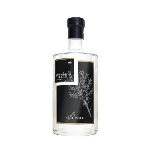Schwangau Dry Gin. Brennerei Schroll. 0,5L