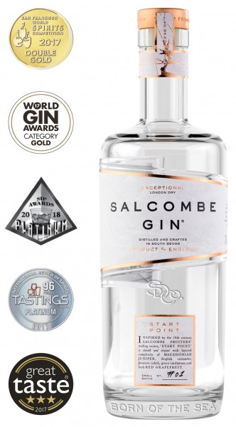 Salcombe Start Point Premium London Dry Gin