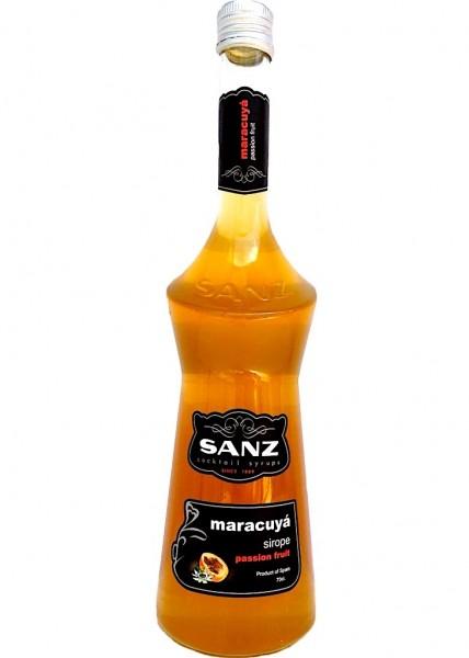 Maracuja Sirup Sanz I Cocktailsirup, aus 12% Maracujasaft