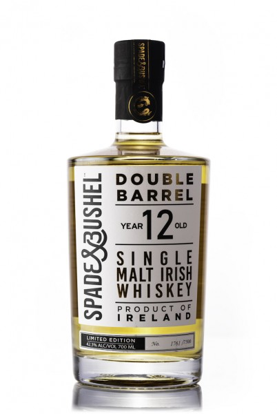 Irish Whiskey 12 Jahre Single Malt Spade and Bushel Double Barrel